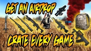 PUBG XBOX ONE X TiPS FROM A TOP 100 PLAYER - PROVEN STRATEGY FOR GETTiNG AiRDROP EVERY GAME!!!!!