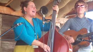 Nadine Landry leads Gospel Hour at Oldtone Roots Music Festival