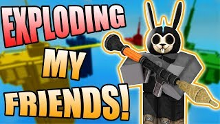 EXPLODING MY FRIENDS! | ROBLOX: Doomspire (Classic Game)