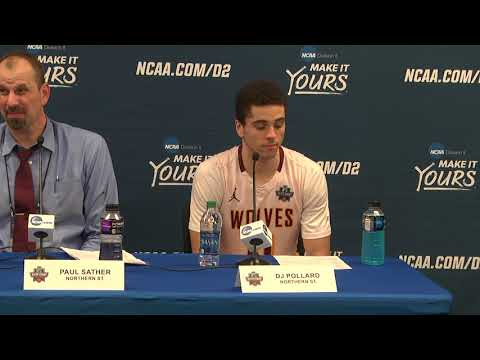2018 NCAA MBB Elite Eight Qtr No. 4 Press Conference – Northern State