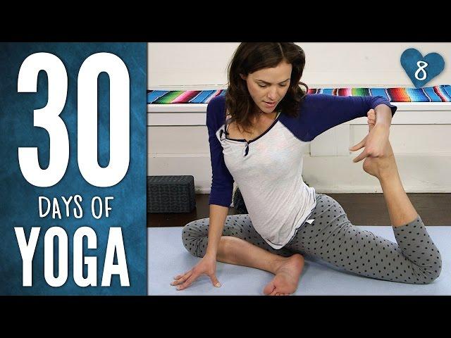 Day 8 - Yoga For Healing & Meditation - 30 Days of Yoga