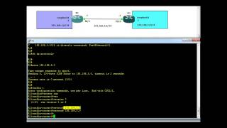 Routing Information Protocol - RIP configuration example 1