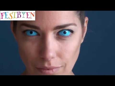 c7203c548c6c Sådan sætter du Sclera linser i øjnene - YouTube
