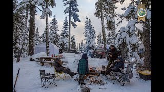 Oregon Winter Camping | Niĸson Overland