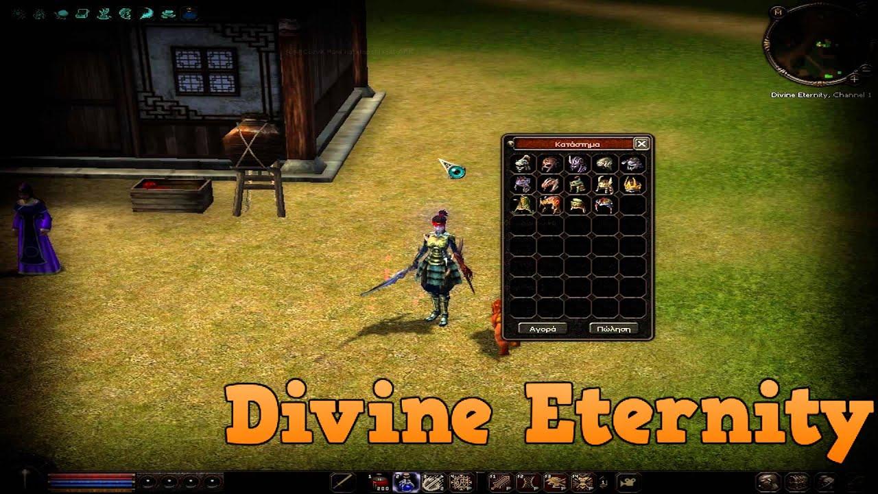 Divine Eternity New Greek Private Server 2014 Youtube