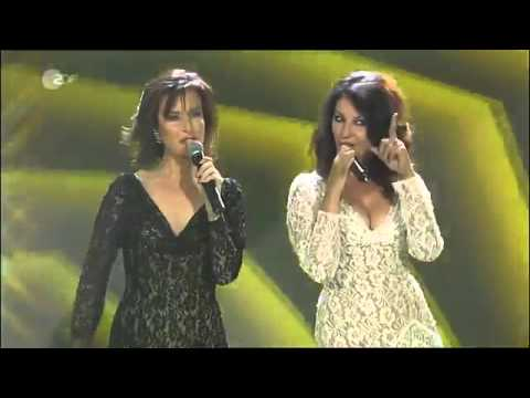 Baccara   Yes Sir, I Can Boogie Live ZDF Hitparty 31 12 2009