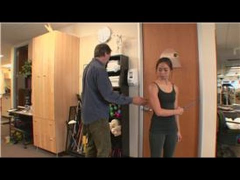 Shoulder Physical Therapy : External Shoulder Rotation Exercise for Shoulder Physical Therapy