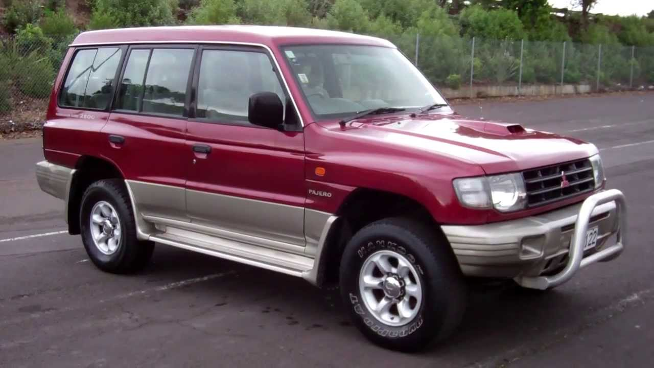 1998 mitsubishi pajero 4wd diesel 1 reserve cash4carscash4cars sold youtube