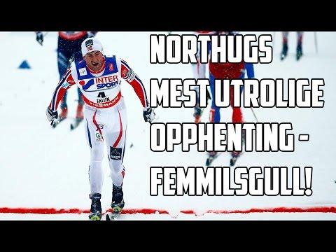 Northug tar gull på femmila under Falun-VM med en helt sinnsyk avslutning!