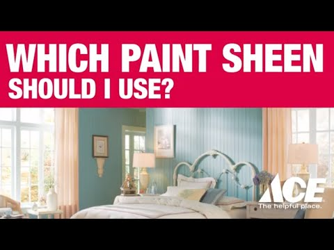 How to Pick a Paint Sheen | ACE Tips & Advice