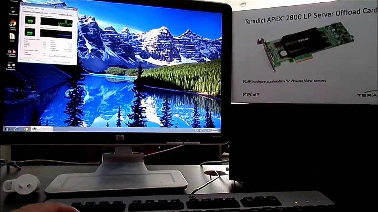 Teradici PCoIP Video performance with APEX 2800 offload Card - DRAFT