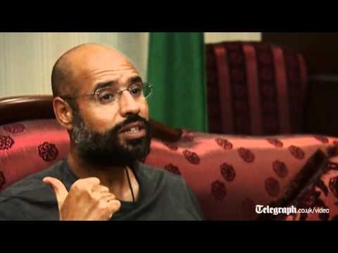 Libya conflict : 'You cannot win' Saif Gaddafi tells West