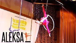 Воздушное кольцо - Воздушная гимнастика - Танец на воздушном кольце - Соня Кониенко
