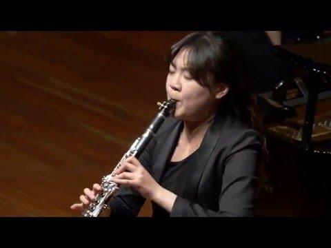 우희수_Clarinet_2016 JoongAng Music Concours