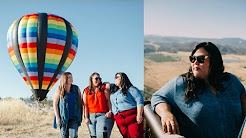 TRAVEL VLOG: Hot Air Balloon Ride & Wine Country with Catherines