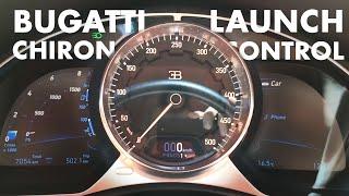 Bugatti Chiron Launch Control Start   Matthias Malmedie