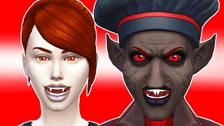BEAUTY TO UGLY VAMPIRE CHALLENGE | THE SIMS 4