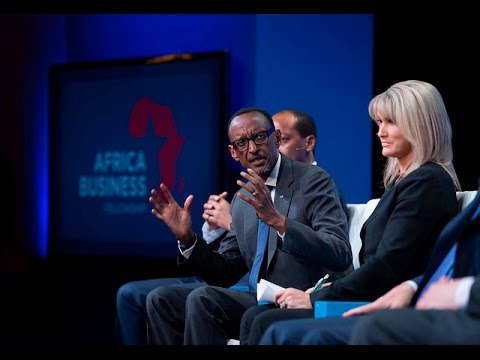 President Kagame speaks on Milken Institute Global Conference Panel on Africa's Future