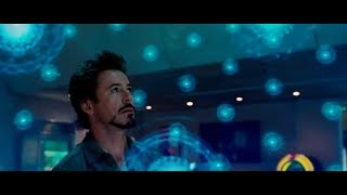Tamil dubbed - Jarvis and Tony Stark Creating a new element