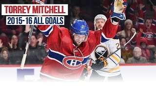 Torrey Mitchell's All Goals from the 2015-2016 NHL Season