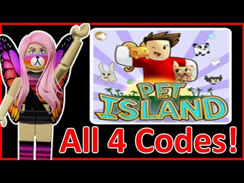 Pet Island Codes! All 4 Working Codes! Roblox