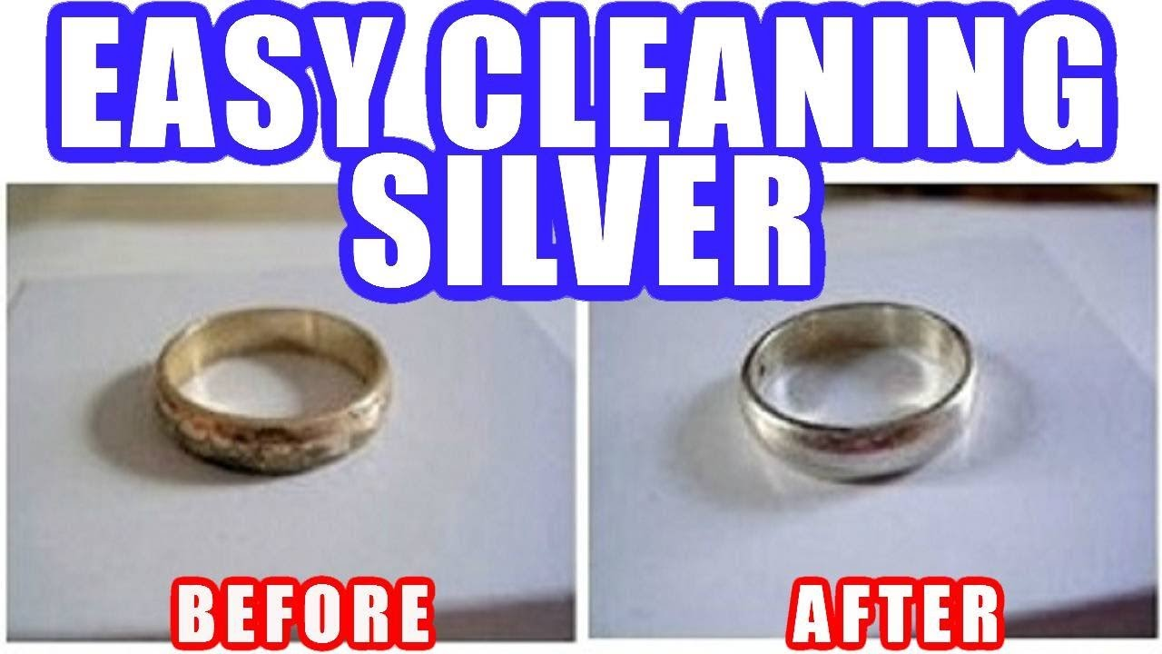 How to Clean Silver Jewelry at Home Easily - YouTube
