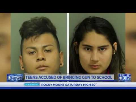 Illegal Immigrants deported for taken gun to school