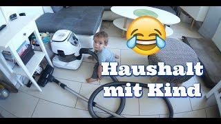 Haushalt mit Kind - Nass Saugen mit Staubsauger - Der Pool wird langsam fertig -  Vlog#995 Rosislife
