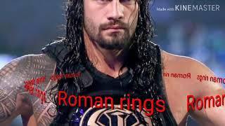 WWE  (Roman ring) Song #faad faad