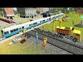 Indian Train City Drive Road Construction | Railroad Builder Simulation 2018 - Android GamePlay
