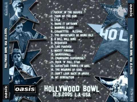 Oasis download hollywood bowl LA 2005 MP3