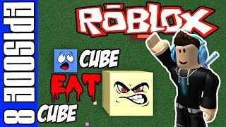 Roblox - Cube Eat Cube Game Play - Episode 8 - Dont Eat Me!!! - Best Roblox io Game?