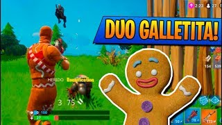 """DUO de GALLETAS"" SKIN de NAVIDAD!! FORTNITE: Battle Royale"