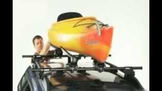 Yakima Mako Aero Kayak Roof Rack Saddles