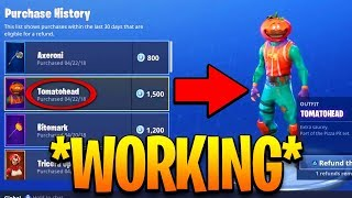 Fortnite Refund System - How To Refund Items For VBucks FREE On Fortnite! (PS4, Xbox) (WORKING 2018)