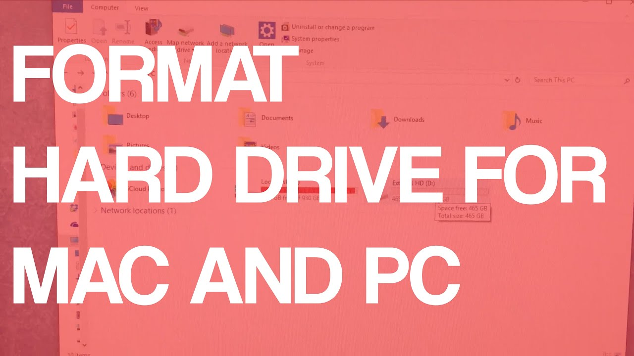 how to find mac harddrive in pc