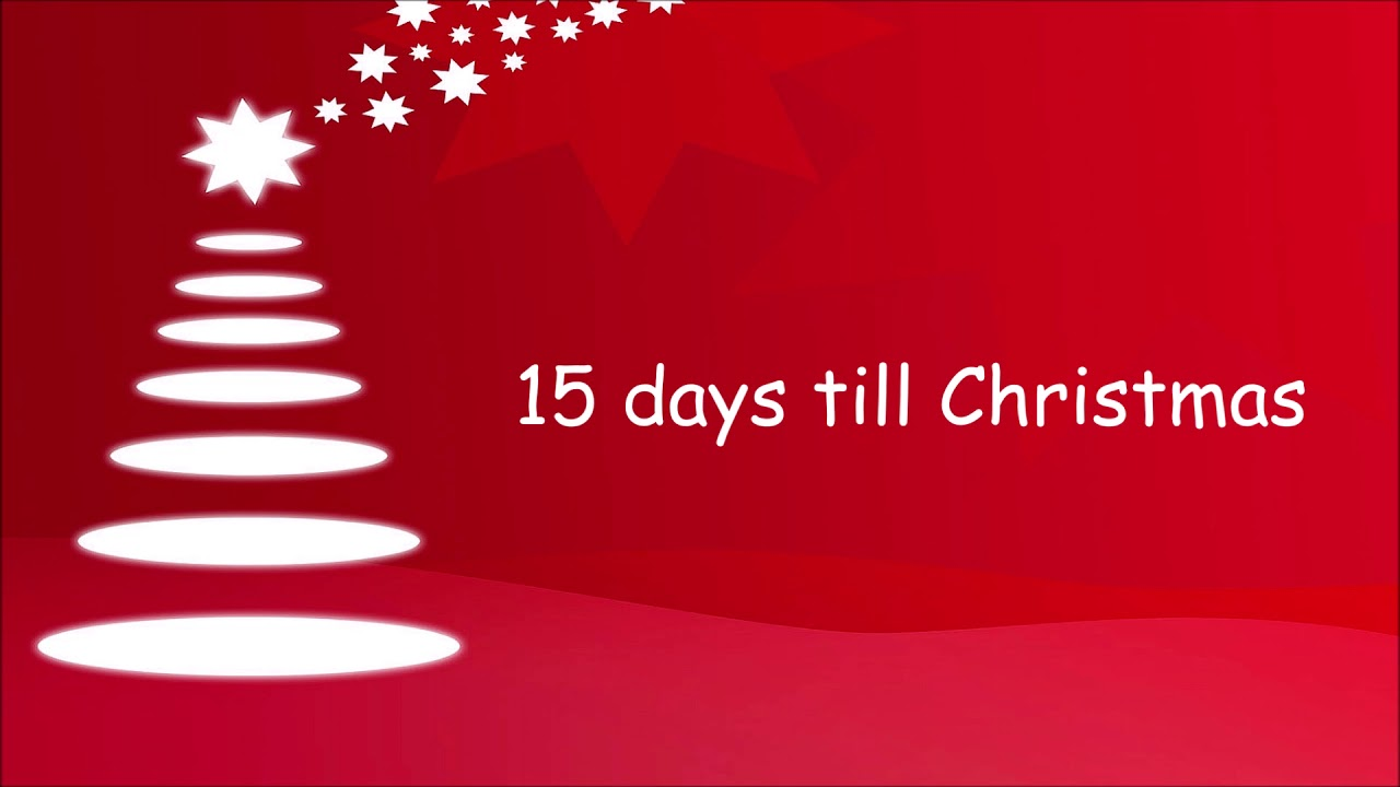 15 days till Christmas - YouTube