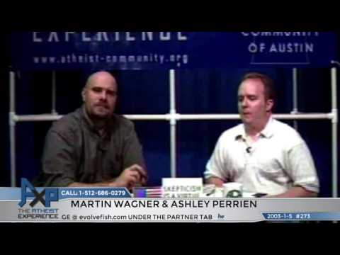 """Lost"" Atheist Experience #273 with Martin Wagner and Ashley Perrien"