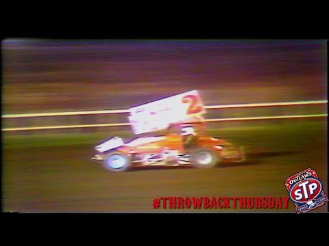 #ThrowbackThursday: World of Outlaws Sprint Cars Silver Dollar Speedway March 7th, 1987