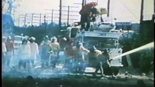 Houston Fire Department - 511 Railroad Tank Car Explosion On Mykawa Rd - 1971