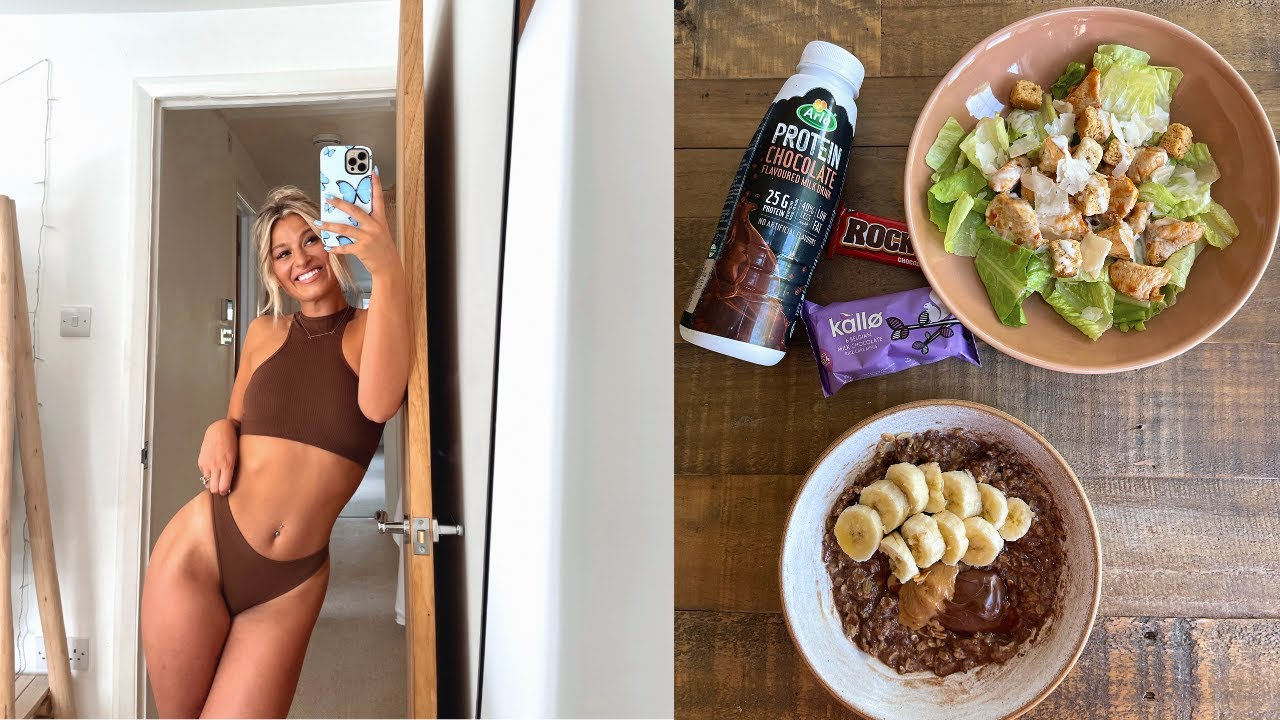realistic what i eat in a day to stay fit: what i've changed recently! VLOG
