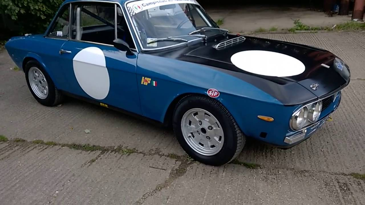 Lancia Fulvia Monte Carlo race car for sale. Part 1 - YouTube