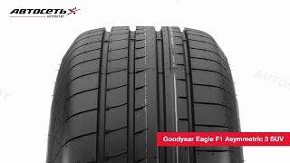 Обзор летней шины Goodyear Eagle F1 Asymmetric 3 SUV ● Автосеть ●