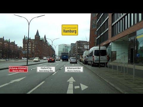 Hamburg: Altona-Altstadt - HafenCity - Altenwerder (2x)