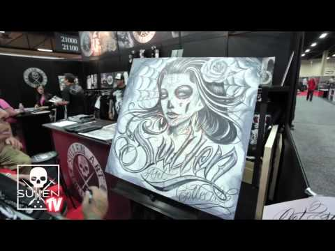 Sullen Art Collective at Magic Trade Show 2011