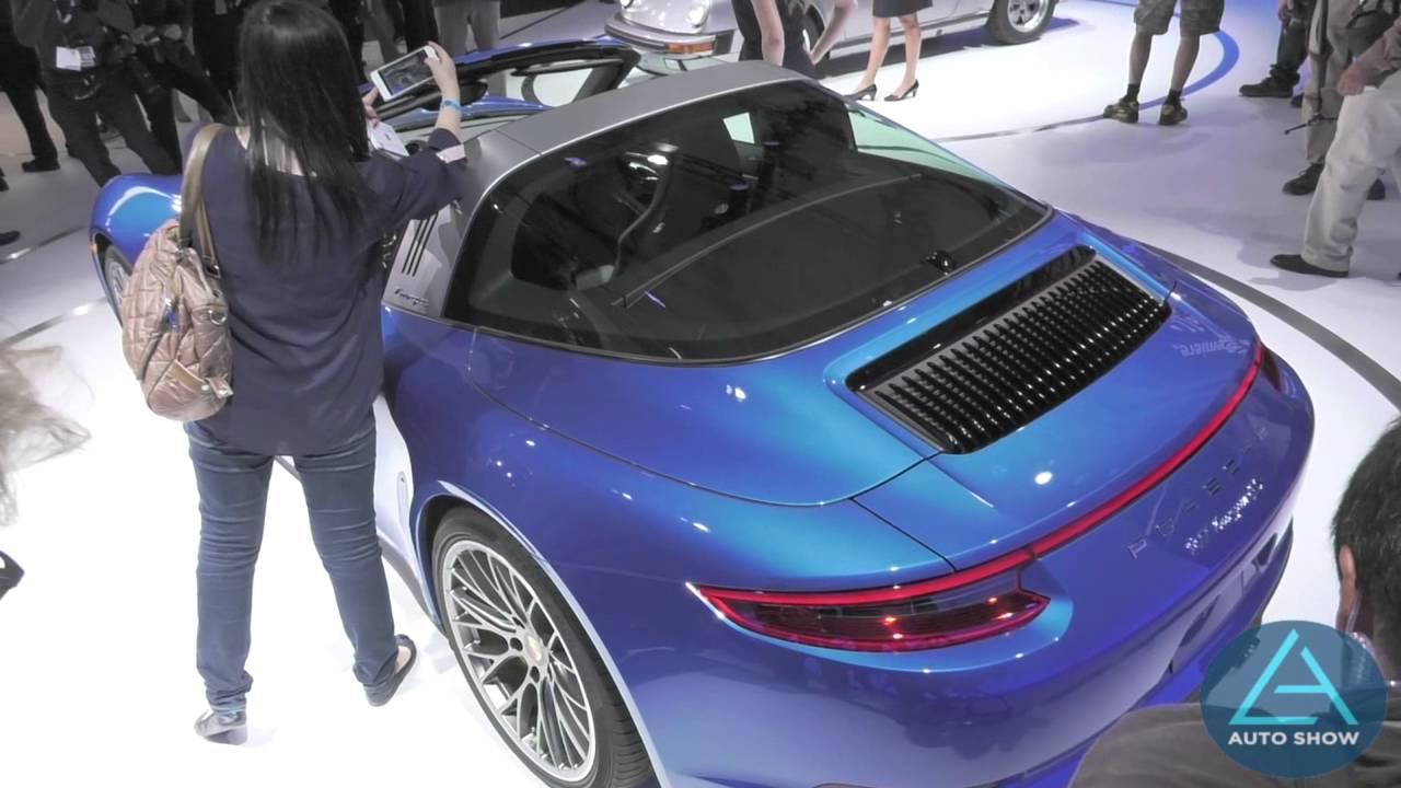 2016 Porsche 911 Targa 4s Unveiled At The 2017 La Auto Show