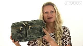 Depeche taske – Camouflage Crossbody (Army grøn) item no.: 13196-123