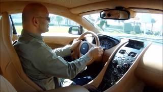 Aston Martin Vanquish S test-drive ...  Part 2