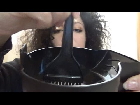 ASMR A quick Sunday makeover! Dyeing your hair and doing you