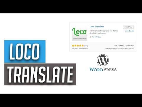 WordPress Webseite Ganz Einfach übersetzen Mit Loco Translate